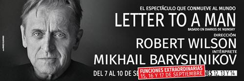 The Letter To A Man Teatralización De Los Diarios Del