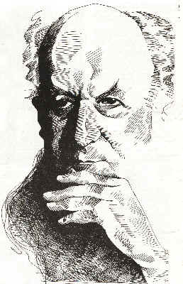 Resultado de imagen de jorge edwards caricatura