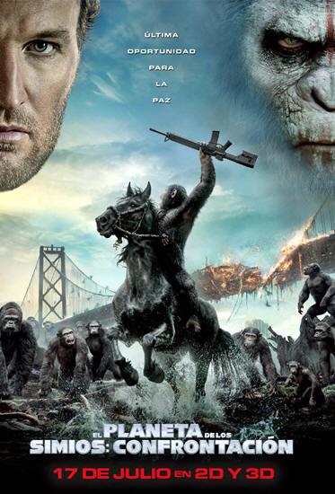 El planeta de los simios: Confrontación (2014) [DVDRip] [Latino] [1 Link] [MEGA]